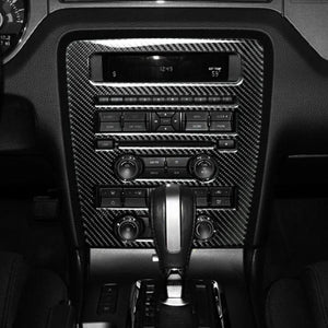 CARBON FIBER RADIO TRIM FOR 2010-2014 MUSTANG