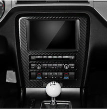 Load image into Gallery viewer, CARBON FIBER RADIO TRIM FOR 2010-2014 MUSTANG