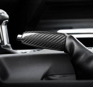 Carbon Fiber Handbrake Replacement For 2015-2020 Mustang