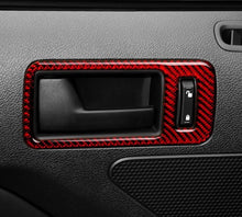 Load image into Gallery viewer, Carbon Fiber Door Handle Trim For 2010-2014 Mustang