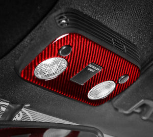 Carbon Fiber Dome Light Trim For 2015-2019 Mustang