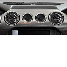 Load image into Gallery viewer, Carbon Fiber Air Vent Trim For 2015-2019 Mustang