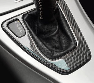 Carbon Fiber Shifter Trim For 2005-2012 BMW E90 E92 E93