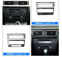 Load image into Gallery viewer, Carbon Fiber Radio Trim For 2005-2012 BMW E90