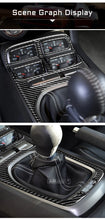 Load image into Gallery viewer, Carbon Fiber Shifter Trim For 2010-2015 Camaro