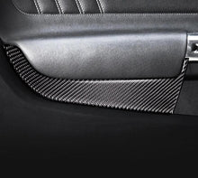 Load image into Gallery viewer, Carbon Fiber Door Trim For 2015-2020 Mustang