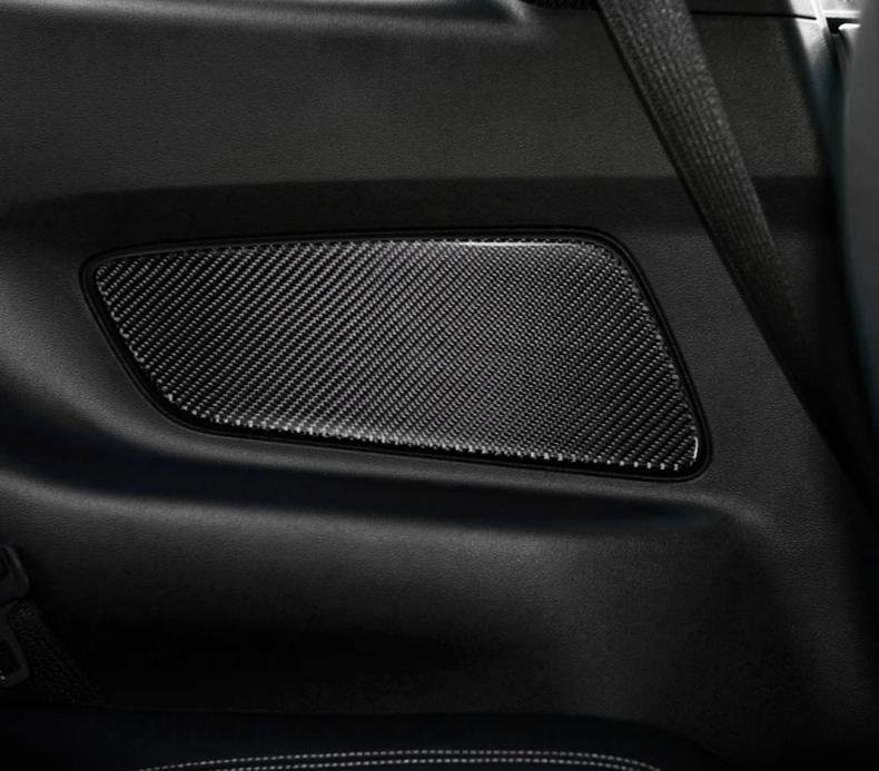 Carbon Fiber Rear Panel Trim For 2015-2020 Mustang