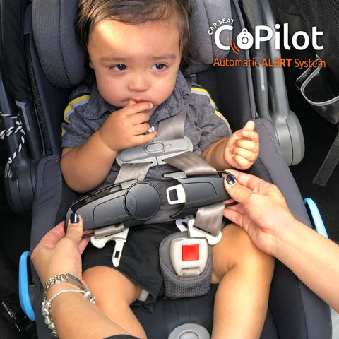 CoPilot Carseat added to straps
