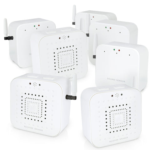 Early Alert Smoke Alarm Signal Extender - 3-Bedroom Kit