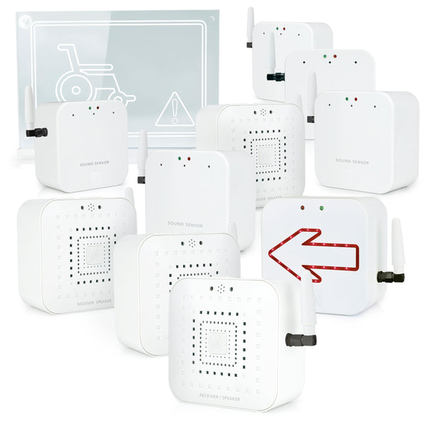 Early Alert Smoke Alarm Signal Extender - Deluxe Home Kit