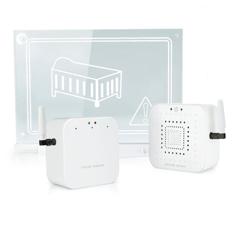 Early Alert Smoke Alarm Signal Extender Window Beacon Kit for Baby
