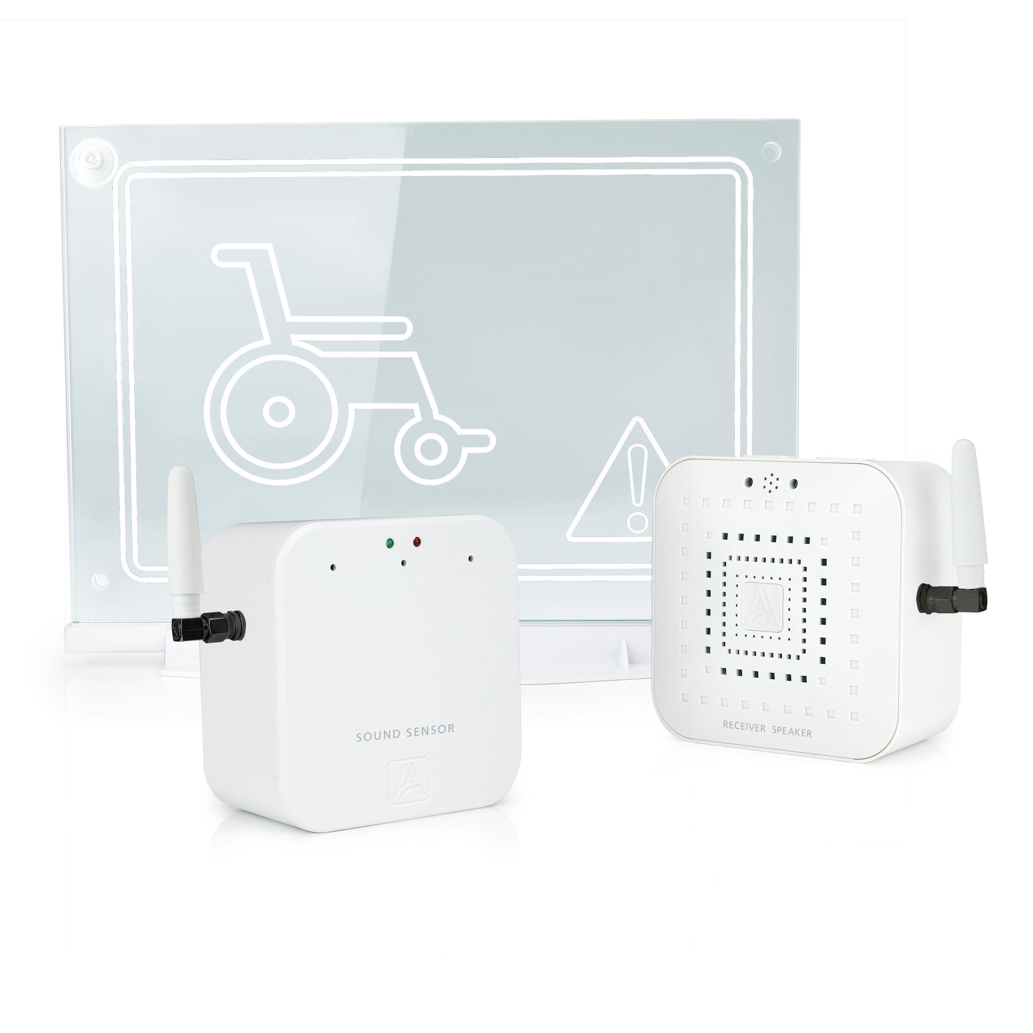 Early Alert Smoke Alarm Signal Extender - Window Beacon Kit for Disabled
