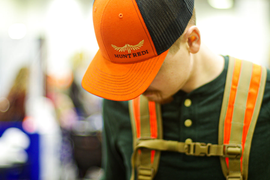 Hunt Redi Offset Logo Orange/Black