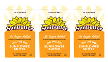 Load image into Gallery viewer, No Sugar Added On the Go™ SunButter® Pouches (30ct)