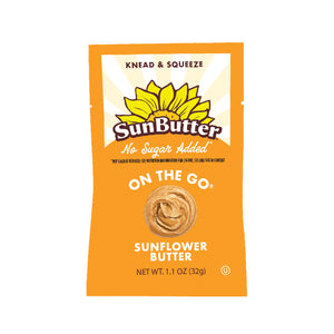 No Sugar Added On the Go™ SunButter® Pouches (30ct)