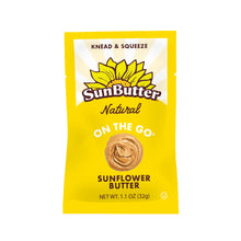 Load image into Gallery viewer, Natural On the Go™ SunButter® Pouches (30ct)