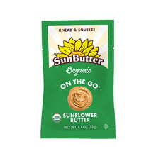 Load image into Gallery viewer, Organic On the Go™ SunButter® Pouches (30ct)