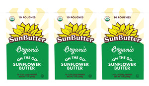 Organic On the Go™ SunButter® Pouches (30ct)