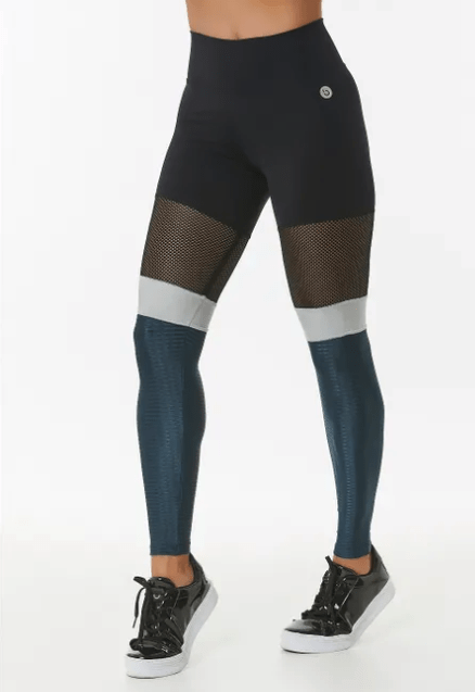Miracle High Waisted Leggings With Fishnet