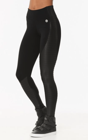 Strong - Faux Leather Leggings