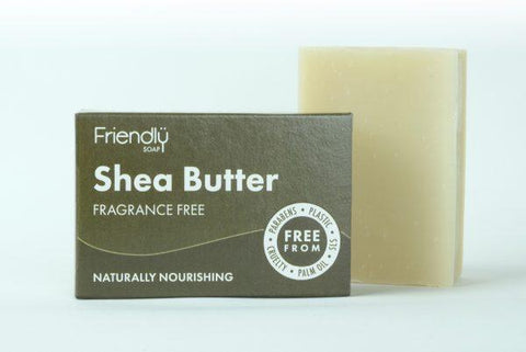Friendly Soap 乳木果潔面皂 – 無香料 - Green 360°