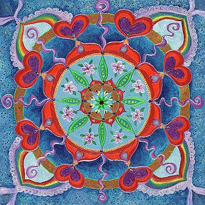 The Seed is Planted: Creation Mandala