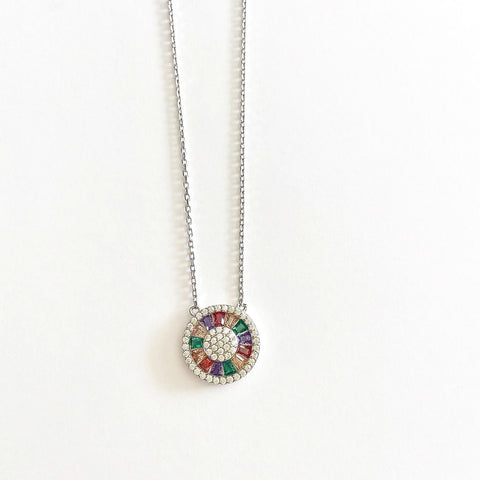 Pride Sunburst Necklace
