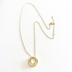 Circle in Circle Necklace
