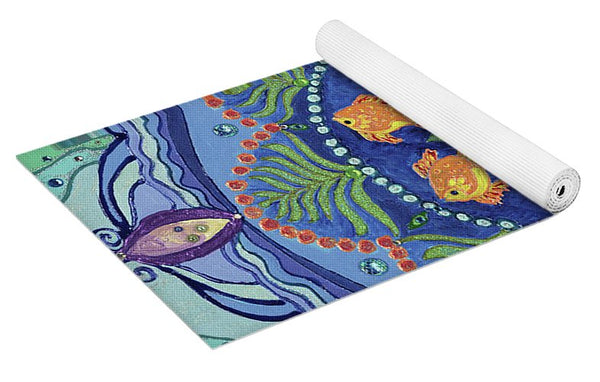 And So It Grows Expansion And Creation - Yoga Mat