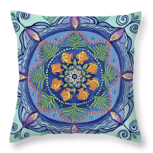 And So It Grows Expansion And Creation - Throw Pillow