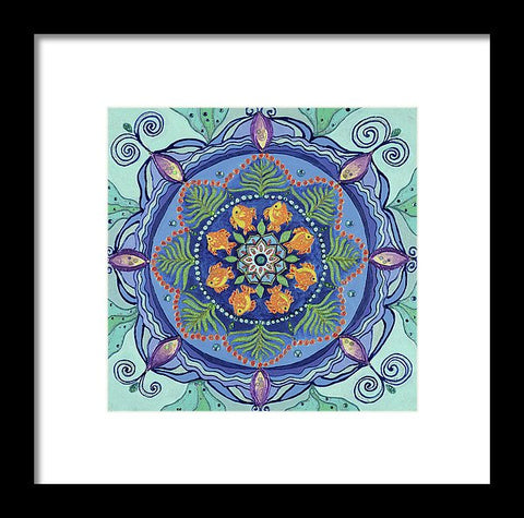 And So It Grows Expansion And Creation - Framed Print