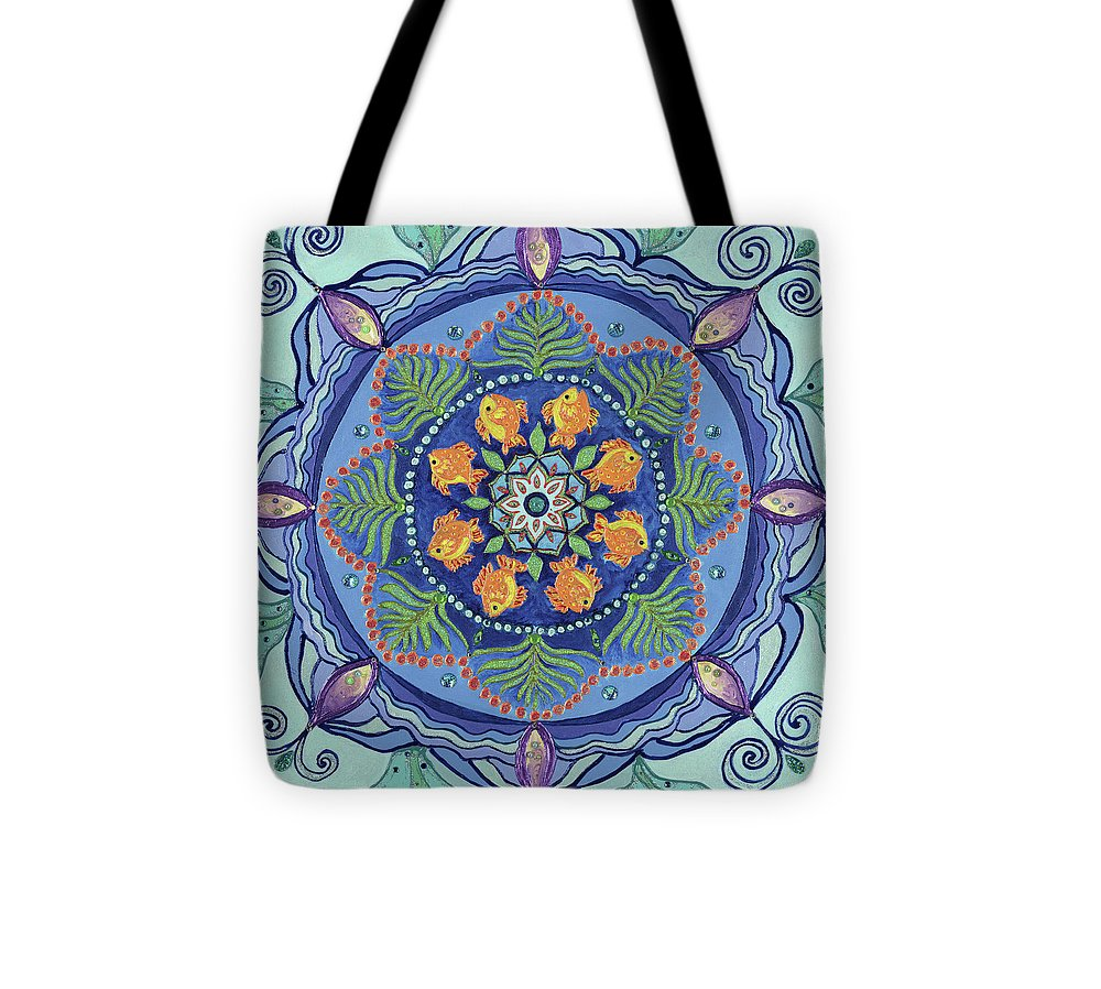 And So It Grows Expansion And Creation - Tote Bag