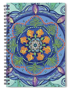 And So It Grows Expansion And Creation - Spiral Notebook