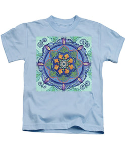 And So It Grows Expansion And Creation - Kids T-Shirt