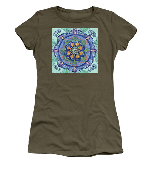 And So It Grows Expansion And Creation - Women's T-Shirt