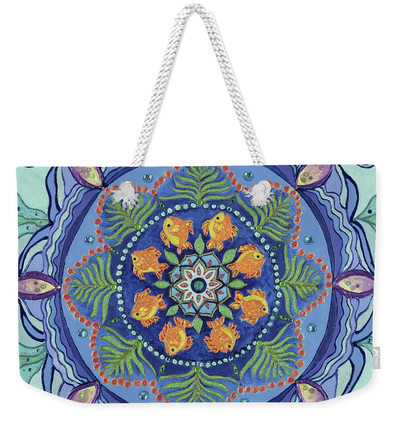 And So It Grows Expansion And Creation - Weekender Tote Bag