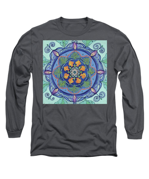 And So It Grows Expansion And Creation - Long Sleeve T-Shirt