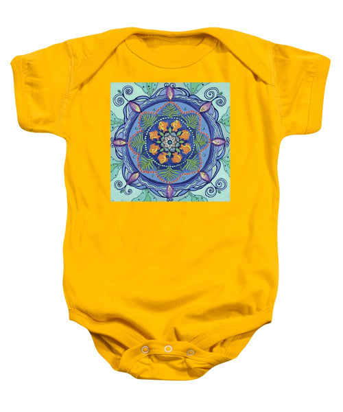 And So It Grows Expansion And Creation - Baby Onesie