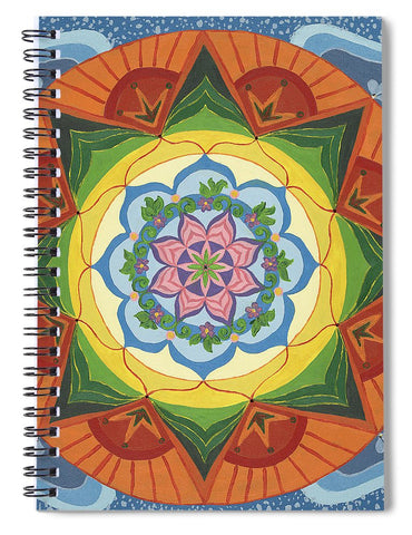 Ever Changing Always Changing - Spiral Notebook