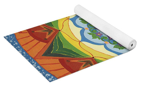 Ever Changing Always Changing - Yoga Mat