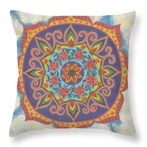 Grace And Ease The Art Of Allowing - Throw Pillow
