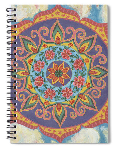 Grace And Ease The Art Of Allowing - Spiral Notebook