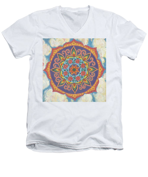 Grace And Ease The Art Of Allowing - Men's V-Neck T-Shirt