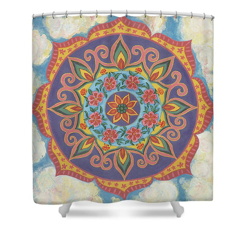 Grace And Ease The Art Of Allowing - Shower Curtain