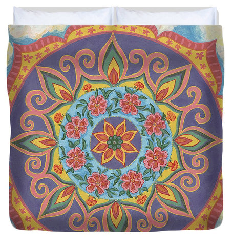 Grace And Ease The Art Of Allowing - Duvet Cover