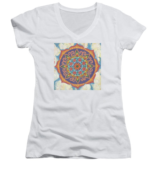 Grace And Ease The Art Of Allowing - Women's V-Neck