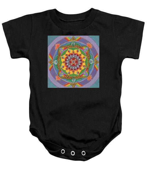 Self Actualization The Individual Need To Evolve - Baby Onesie