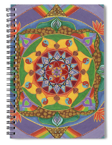 Self Actualization The Individual Need to Evolve - Spiral Notebook