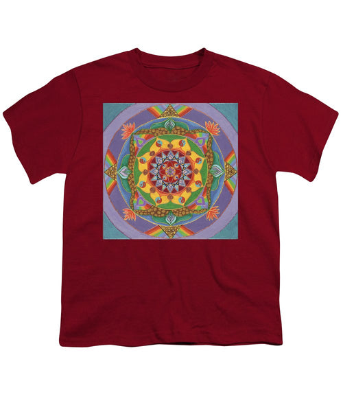 Self Actualization The Individual Need To Evolve - Youth T-Shirt