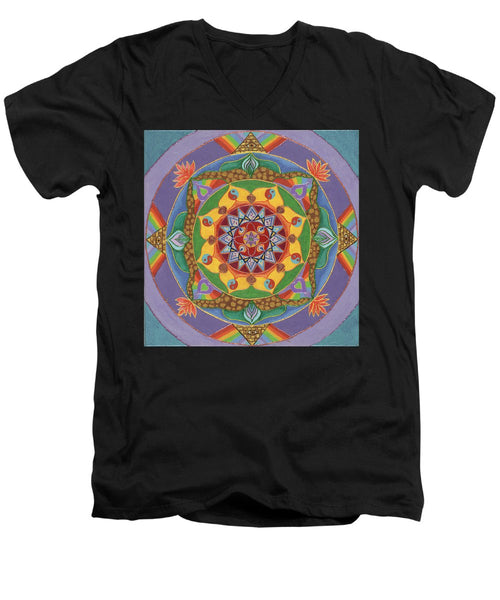 Self Actualization The Individual Need To Evolve - Men's V-Neck T-Shirt